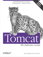 Cover image for Tomcat: The Definitive Guide