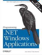 Cover image for Programming .NET Windows Applications