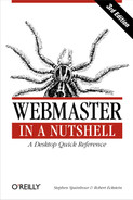 Cover image for Webmaster in a Nutshell, Third Edition