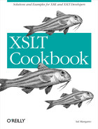 Cover image for XSLT Cookbook