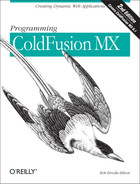 Cover image for Programming ColdFusion MX, 2nd Edition