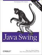 Cover image for Java Swing, 2nd Edition