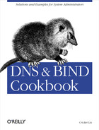 Cover image for DNS & Bind Cookbook