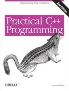 Cover image for Practical C++ Programming, 2nd Edition