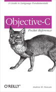 Cover image for Objective-C Pocket Reference