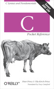 Cover image for C Pocket Reference