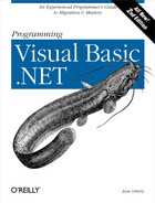 Cover image for Programming Visual Basic .NET, Second Edition