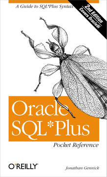 Oracle SQL Plus Pocket Reference, 2nd Edition