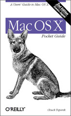 Mac OS X Pocket Guide, Second Edition
