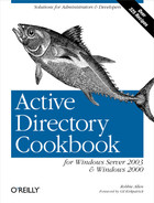 Cover image for Active Directory Cookbook