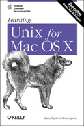 Cover image for Learning Unix for Mac OS X, Second Edition