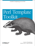 Cover image for Perl Template Toolkit