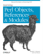 Cover image for Learning Perl Objects, References, and Modules