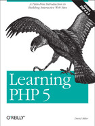 Cover image for Learning PHP 5