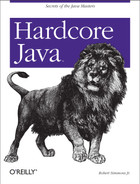Cover image for Hardcore Java