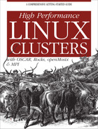 Cover image for High Performance Linux Clusters with OSCAR, Rocks, OpenMosix, and MPI