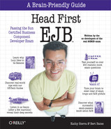 Cover image for Head First EJB