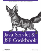 Cover of Java Servlet & JSP Cookbook