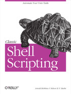 Cover image for Classic Shell Scripting