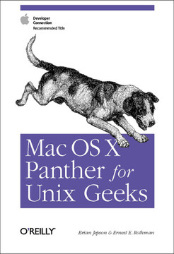 Mac OS X Panther for Unix Geeks, Second Edition