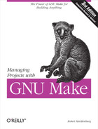 Cover image for Managing Projects with GNU Make, 3rd Edition