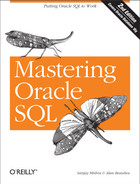 Cover image for Mastering Oracle SQL, 2nd Edition