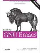 Cover of Learning GNU Emacs, 3rd Edition
