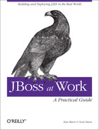 Cover image for JBoss at Work: A Practical Guide