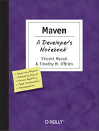 Cover image for Maven: A Developer's Notebook