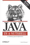 Cover image for Java in a Nutshell, 5th Edition