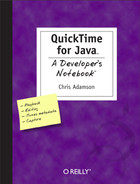 Cover image for QuickTime for Java: A Developer's Notebook
