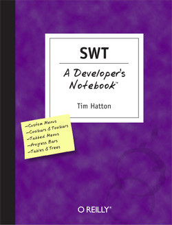 SWT: A Developer's Notebook
