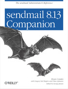 Cover image for sendmail 8.13 Companion