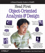 Cover of Head First Object-Oriented Analysis and Design