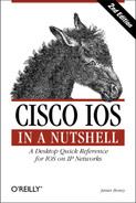 Cover of Cisco IOS in a Nutshell, 2nd Edition
