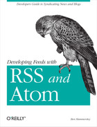 Cover image for Developing Feeds with RSS and Atom