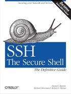 Cover of SSH, The Secure Shell: The Definitive Guide, 2nd Edition