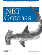 Cover image for .NET Gotchas