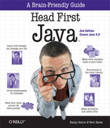 Cover of Head First Java, 2nd Edition