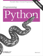 Cover of Programming Python, 3rd Edition