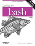 Cover image for Learning the bash Shell, 3rd Edition