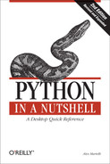 Cover of Python in a Nutshell, 2nd Edition