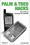 Cover image for Palm and Treo Hacks