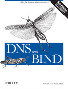 Cover of DNS and BIND, 5th Edition