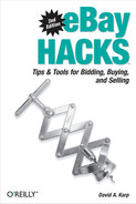 Cover image for eBay Hacks, Second Edition