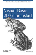 Cover image for Visual Basic 2005 Jumpstart