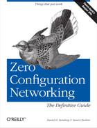 Cover image for Zero Configuration Networking: The Definitive Guide