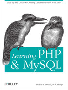 Cover image for Learning PHP and MySQL