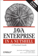 Cover of Java Enterprise in a Nutshell, Third Edition