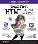 Cover image for Head First HTML with CSS & XHTML